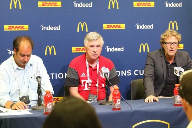 Ribéry rappelé à l'ordre par Ancelotti — Bayern Munich