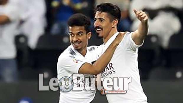 Baghdad Bounedjah inscrit 7 buts en un match — Qatar
