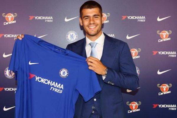 Morata à Chelsea pour