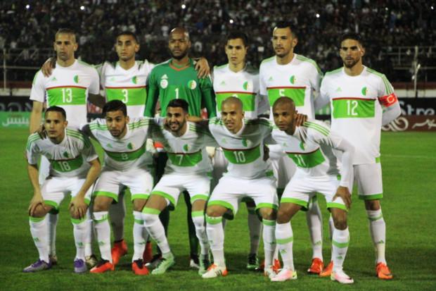 Prochain match algerie 2016