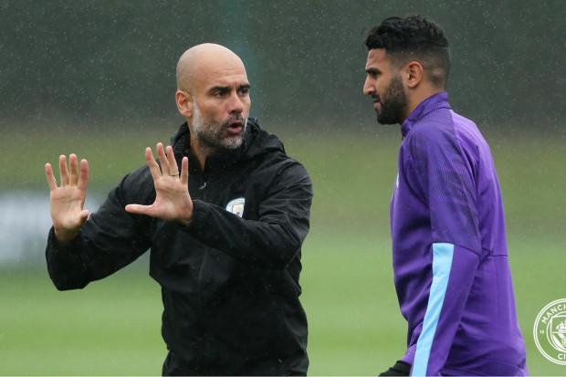 Cette saison, serait-ce celle de Mahrez ? Guardiola répond — Manchester City