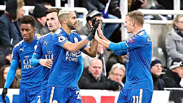 Manchester City ridiculise Leicester