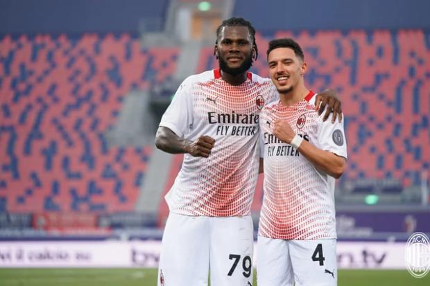 Le Milan AC vient à bout de Bologna