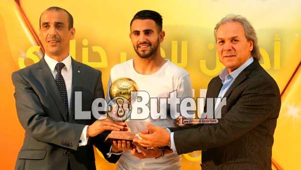 Faouzi Ghoulam, Ballon d'Or algérien 2017 — Algérie