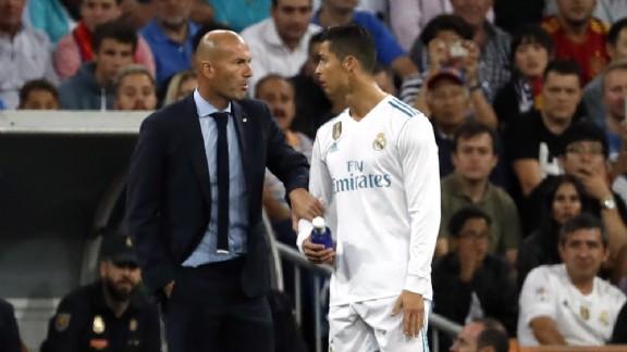 Zidane parti du Real Madrid à cause de Bale et CR7 ?