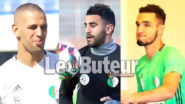 Mahrez, Slimani et Bentaleb écartés face au Cameroun — EN