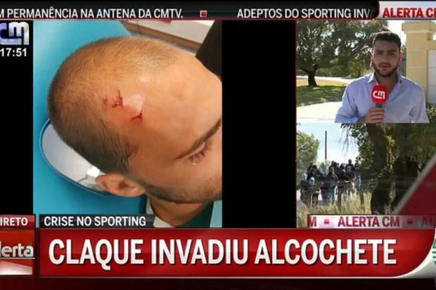 Des supporters du Sporting Portugal agressent des joueurs à l'entraînement