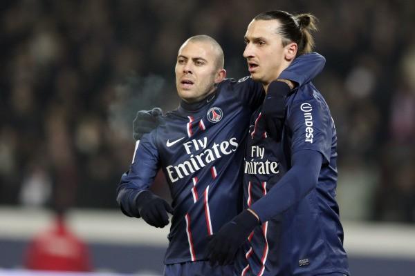 Jérémy Ménez na fotografii se Zlatanem Ibrahimovićem