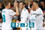 Le Real Madrid termine sa saison sur un match nul