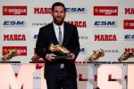Messi Soulier d'Or pour la cinquième fois de sa carrière