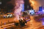 Attentat à la bombe prêt du stade du Besiktas