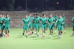 Dernière séance d'entrainement pour les Verts avant de défier le Burundi en amical