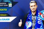 Idriss Saadi s'engage pour quatre saisons avec Strasbourg