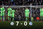 Man City écrase Schalke 04. Mahrez n'a pas joué