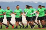 Les Verts poursuivent leur préparation avant le match décisif face au Sénégal (Photos)