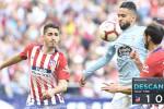 Boudebouz et le Celta Vigo chutent face à l'Atlético