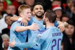 Mahrez et deux de ses coéquipiers dominent le classement des passeurs en Premier League