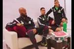 Mbolhi, nouveau capitaine, Brahimi et Medjani.................
