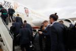 L'arrivée des joueurs du Real à Abu Dhabi (Photos)