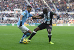 Man City et Mahrez accrochés à Newcastle