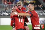 Bensebaini ne cache pas sa joie après son premier match d'Europa League