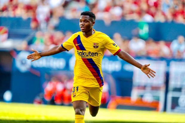 Le Bissau Guinéen Ansu Fati choisit la sélection espagnole — Barça