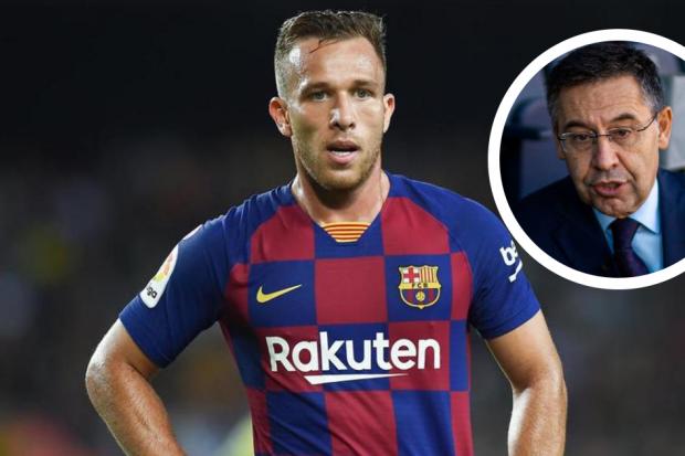 Bartomeu allume Arthur — Barça