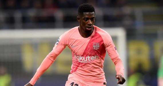Dembélé rechute contre l'OL, le verdict fait mal — Barça