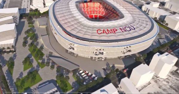 Le FC Barcelone présente son nouveau Camp Nou