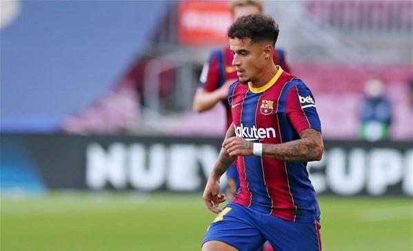 FC Barcelone: Philippe Coutinho blessé à la cuisse gauche