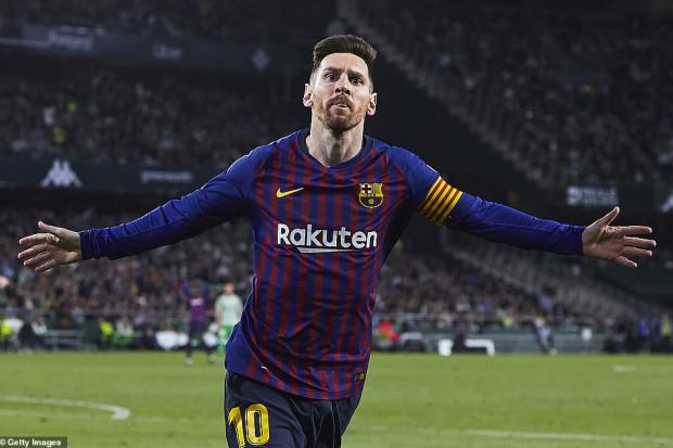 International : Barça : Messi a vécu une première face au Real Betis (Vidéo)