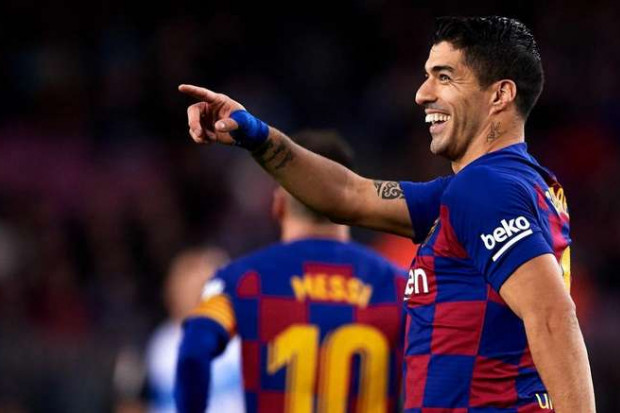 Suarez parle de son avenir au club — Barça