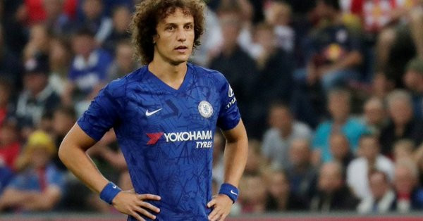 David Luiz vers Arsenal — Chelsea