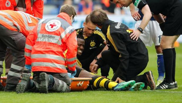 Dortmund - Lourde blessure pour Michy Batshuayi ?