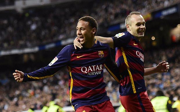 Quand Iniesta évoque un transfert de Neymar au Real Madrid