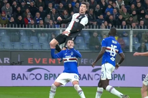 Vidéo - Cristiano Ronaldo marque un magnifique but à 2,56 mètres de hauteur