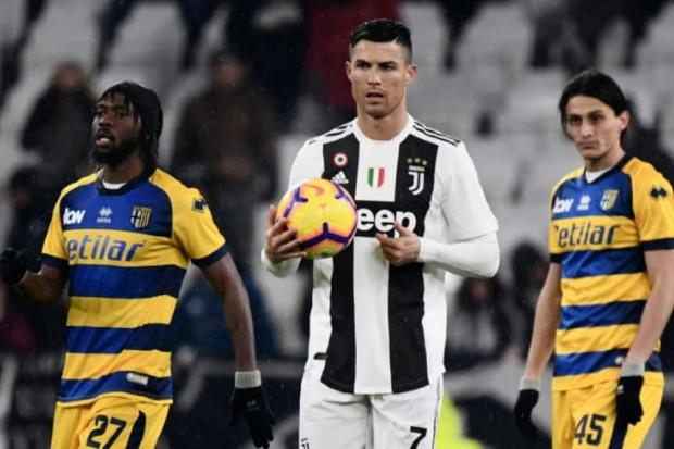 La Juventus accrochée par Parme malgré un doublé de Ronaldo