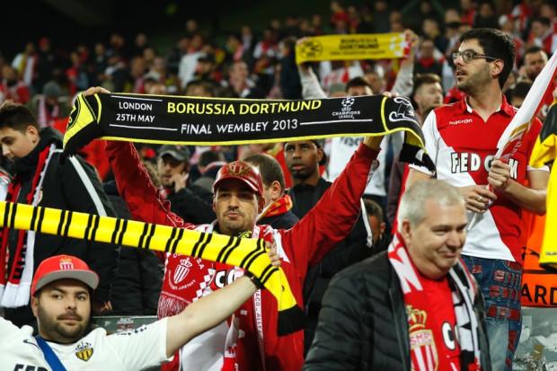 Monaco élimine Dortmund — Ligue des champions