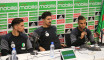 EN: la conférence de presse de Bounedjah, Arous et Medjani avant le match face au Nigéria