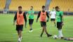 EN : La sélection nationale s'est entraînée au stade Ahmadou-Ahidjo