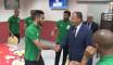 EN: Le MJS, M. Mohamed Hattab rend visite aux Verts