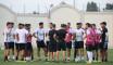EN : les 25 joueurs présents à l'entraînement de mercredi
