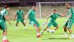 EN : Premier entrainement des Verts au Qatar
