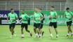 EN : Ultime entraînement des Verts avant le match face à la Zambie