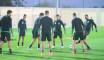 EN : Vidéo et entraînement avec ballon pour préparer le match contre les centrafricains