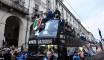 La Juventus fête son titre dans les rues de Turin