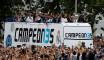 La parade des joueurs du Real Madrid