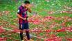 Les adieux de Xavi en images