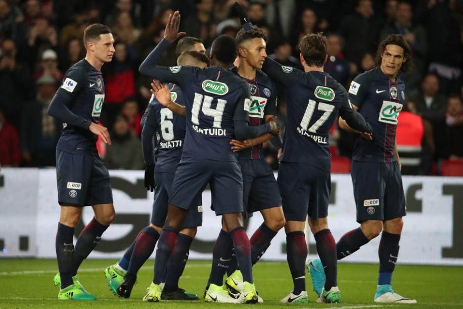 Photo coupe de france demi finales psg 5 monaco 0 - Demi final coupe de france ...