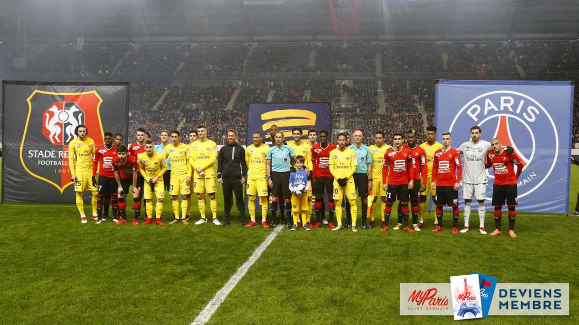 Photo coupe de la ligue demi finale rennes 2 psg 3 - Demi final coupe de la ligue ...
